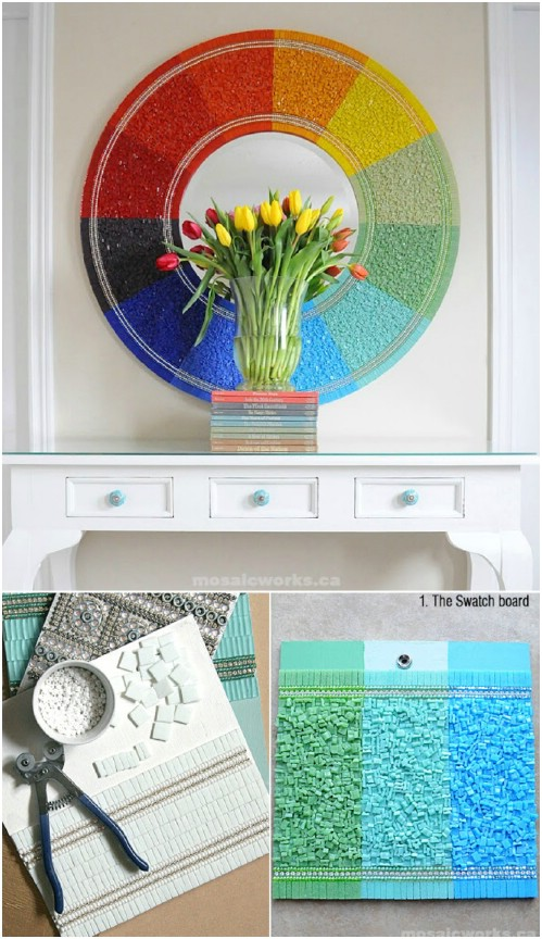 DIY Color Wheel Mirror