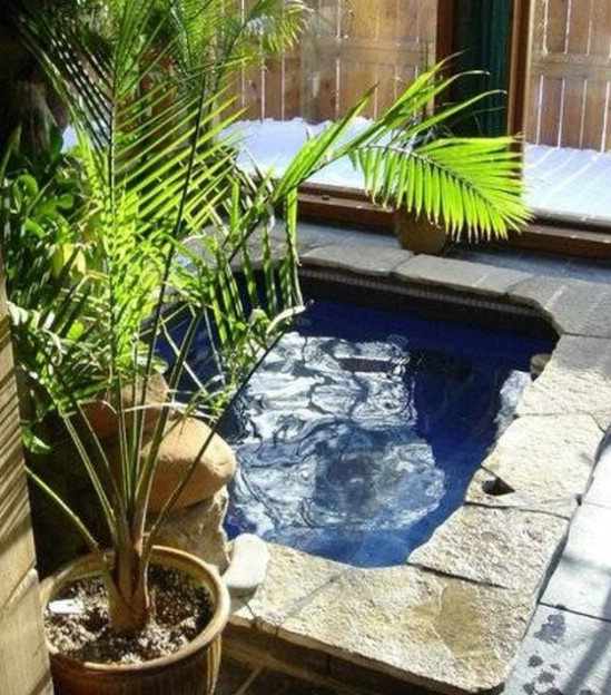 DIY Concrete Hot Tub