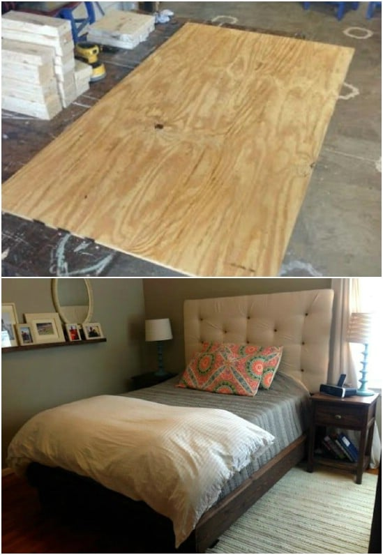 DIY Headboard And Frame