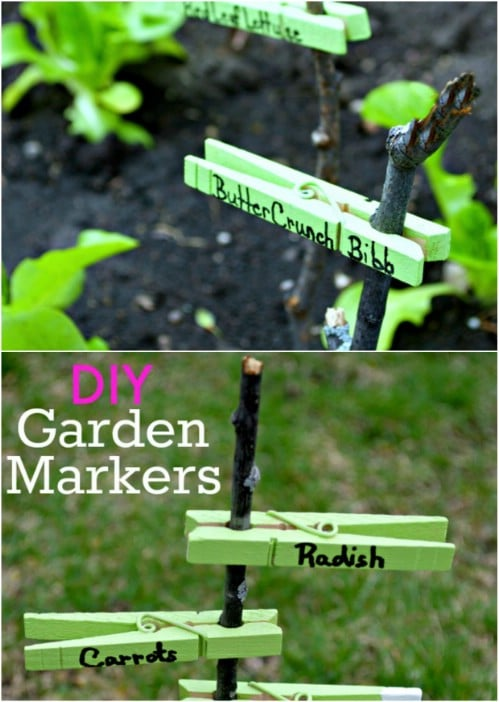 25 Diy Garden Markers To Organize And Beautify Your Garden Diy