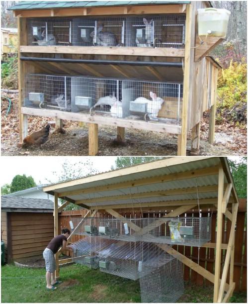 Large DIY Rabbit Hutch