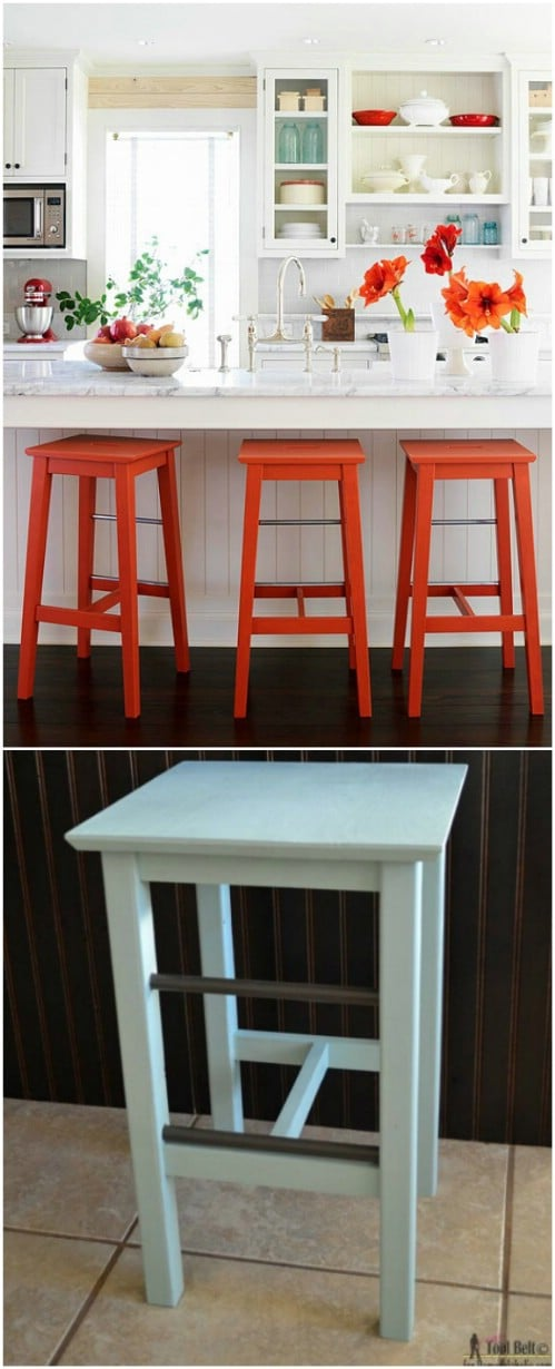 Astonishing 15 Gorgeous Diy Barstools That Add Comfortable Style To The Caraccident5 Cool Chair Designs And Ideas Caraccident5Info