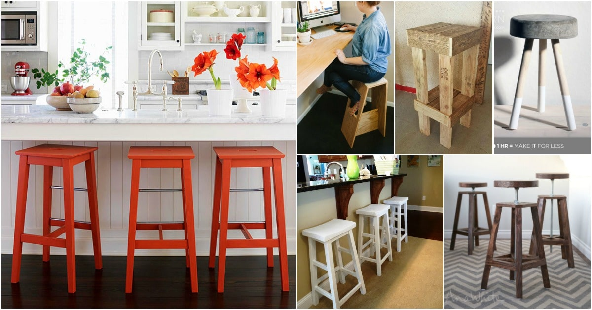 Super 15 Gorgeous Diy Barstools That Add Comfortable Style To The Machost Co Dining Chair Design Ideas Machostcouk