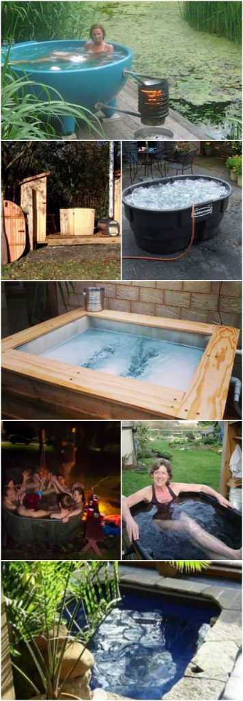 Beroemd 12 Relaxing And Inexpensive Hot Tubs You Can DIY In A Weekend #HG52