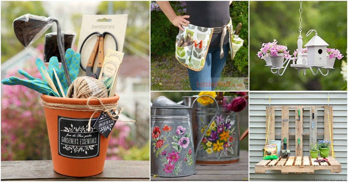 20 Unique DIY Gifts For Gardeners