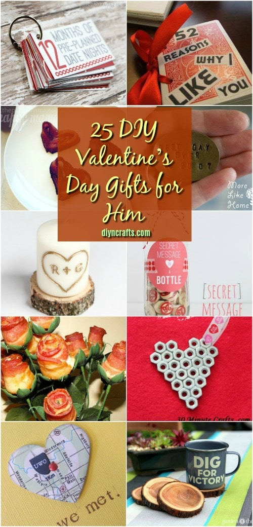 25 DIY Valentine's Day Gifts That Show Him How Much You Care