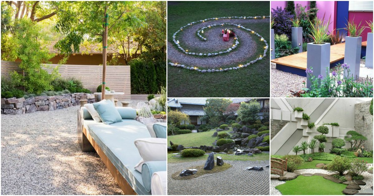 10 Relaxing Diy Zen Gardens Features That Add Beauty To Your Backyard Diy Crafts