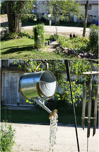 Easy DIY Watering Can Décor