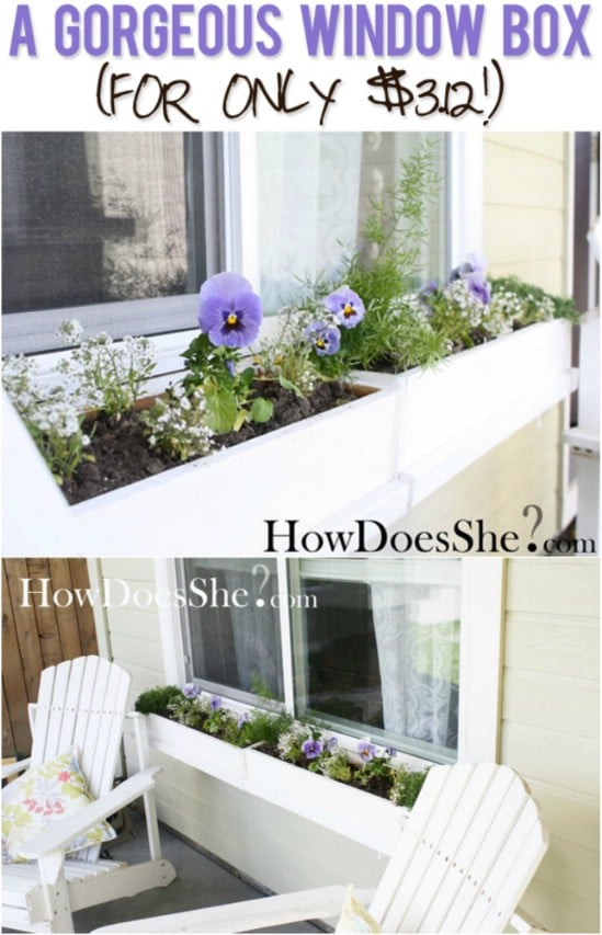 Cheap And Easy $3 Window Box