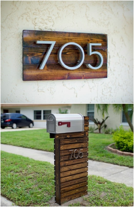 15 Amazingly Easy Diy Mailboxes That Will Improve Your Curb Appeal Diy Crafts
