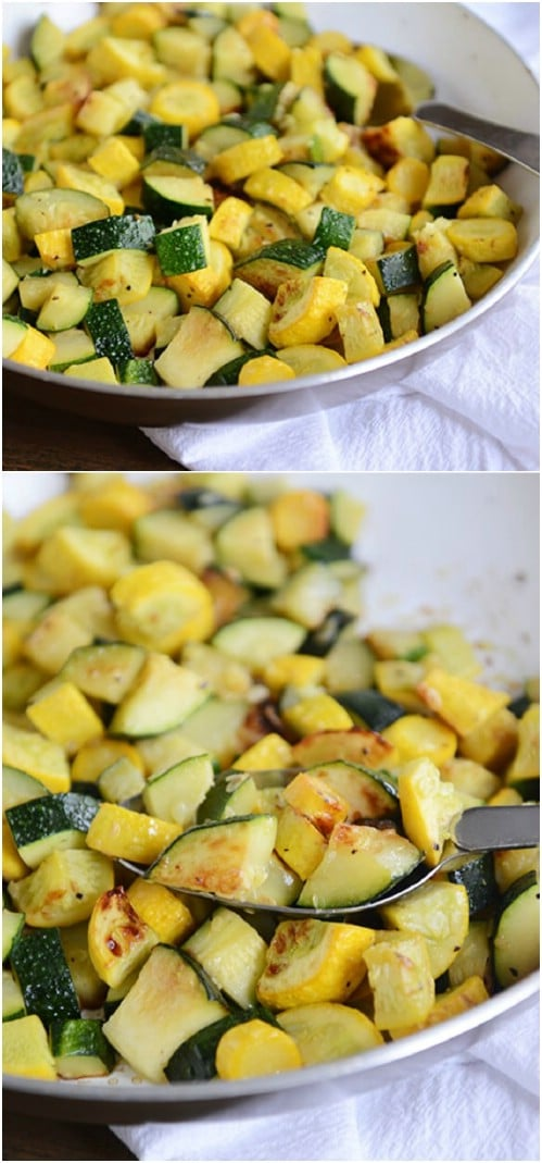Fast And Easy Skillet Squash