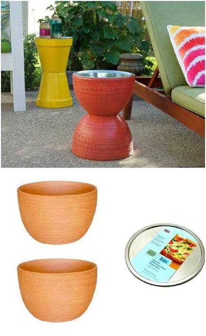 Flower Pot Table