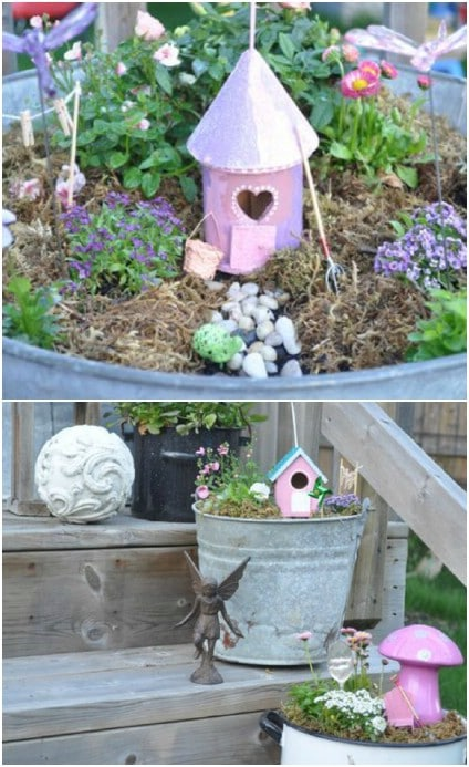 Easy One Day Fairy Garden