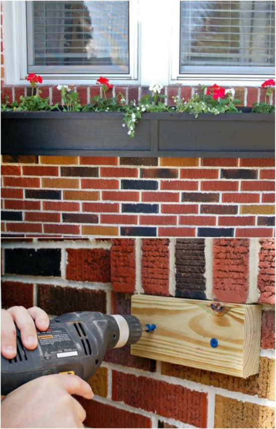 Simple One Day DIY Window Boxes