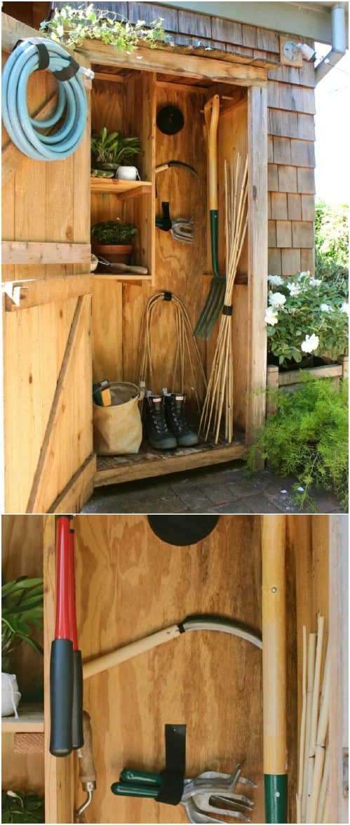 24 Practical Diy Storage Ideas To Organize Your Lawn And