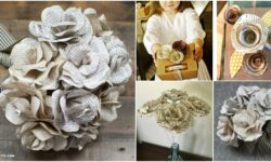 10 Easy Ways To Make Gorgeous DIY Book Page Roses