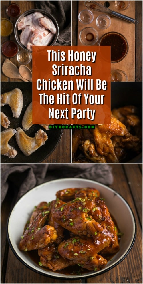 This Honey Sriracha Chicken Will Be The Hit Of Your Next Party