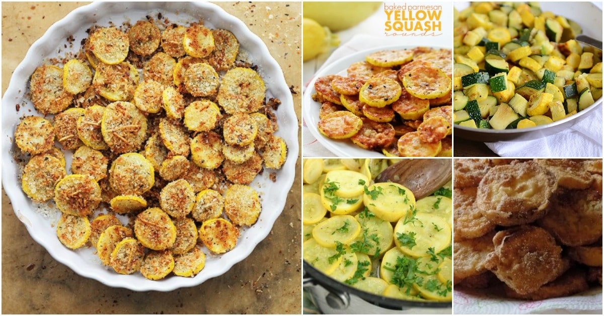 15 Delicious Summer Squash Recipes Even Your Picky Eaters Will Love