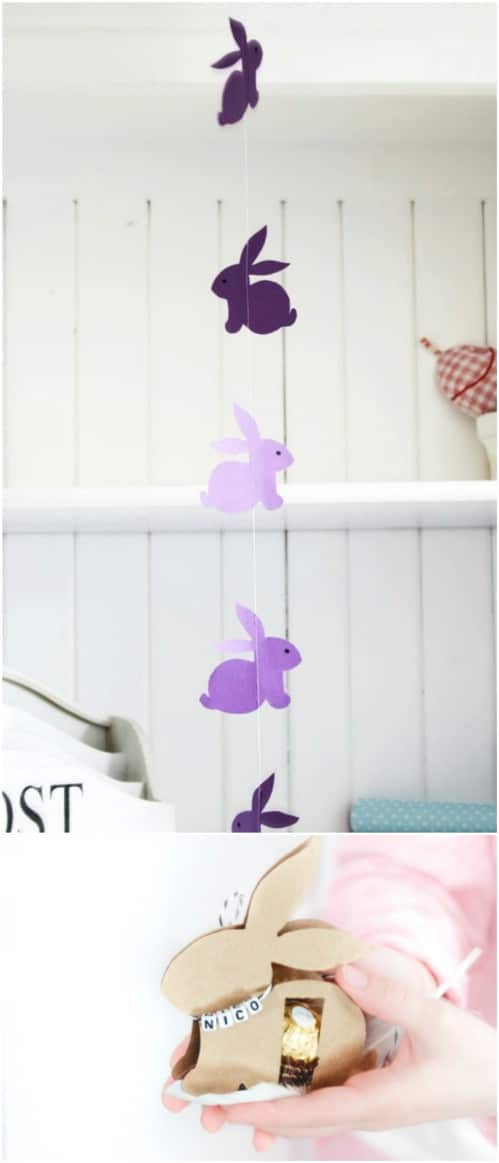 Cute DIY Bunny Garland