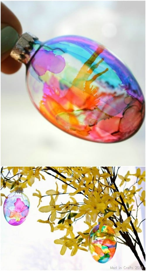 DIY Stained Glass Easter Eggs