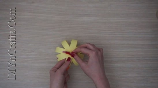 Paper Strip Chick - 5 Easy Easter Crafts For Kids In Under 5 Minutes