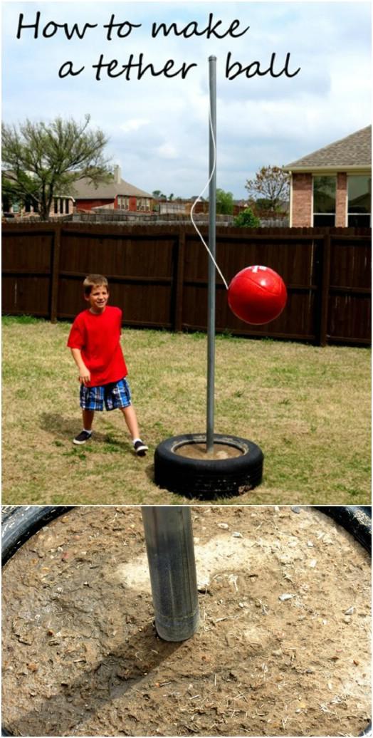 DIY Tetherball