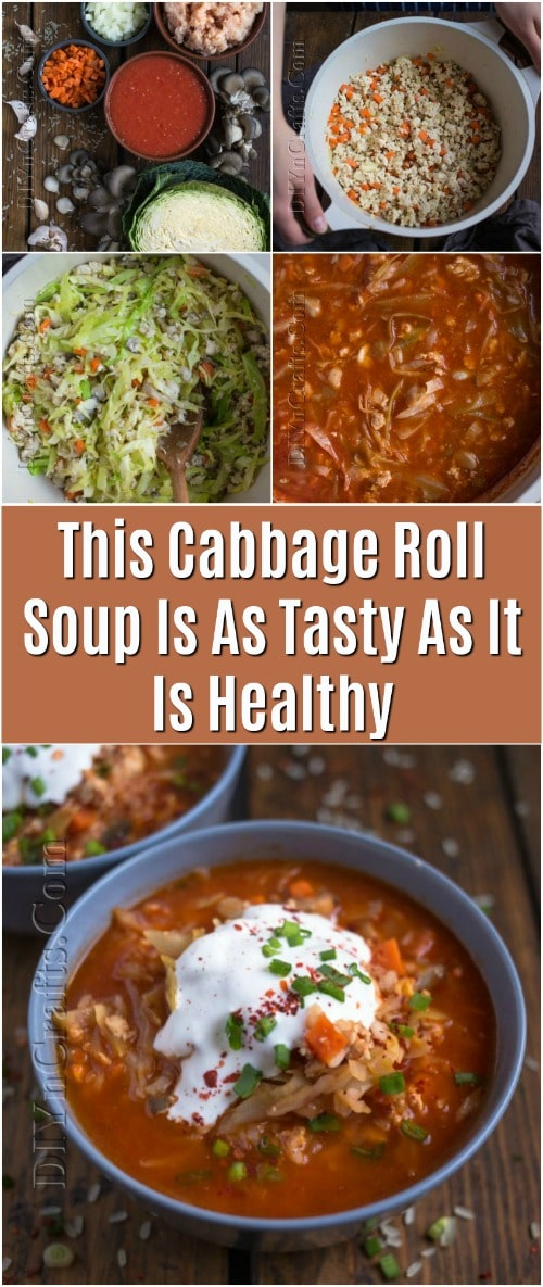 This Cabbage Roll Soup Is As Tasty As It Is Healthy