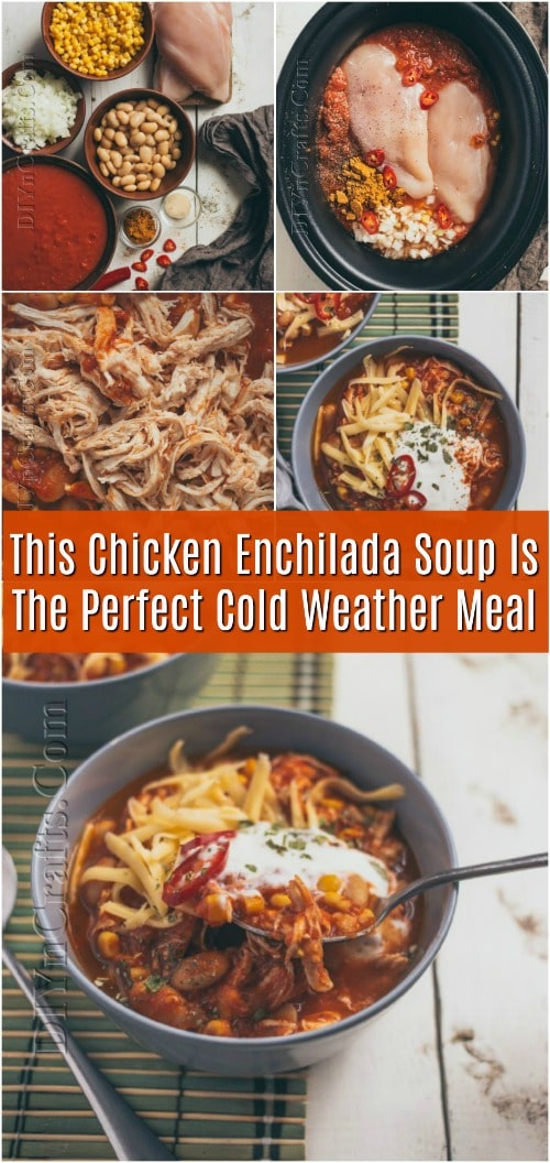 This Chicken Enchilada Soup Is The Perfect Cold Weather Meal