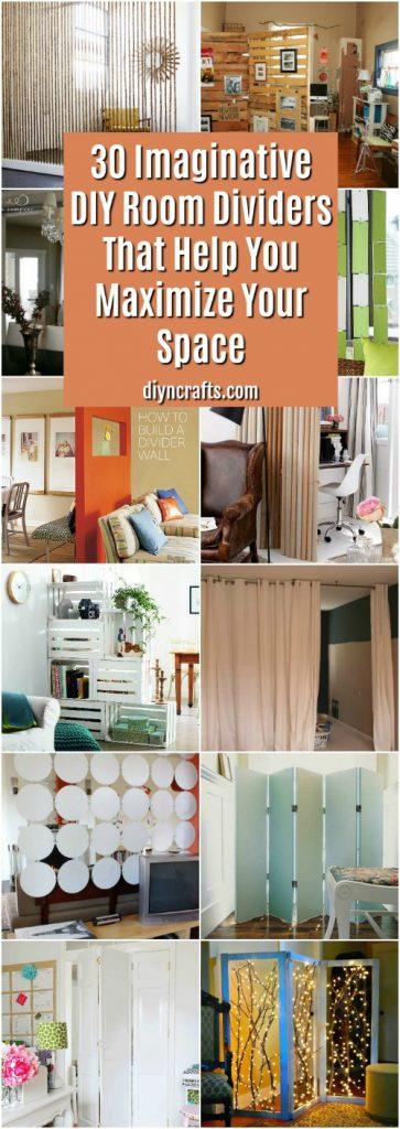 30 Imaginative DIY Room Dividers That Help You Maximize ...