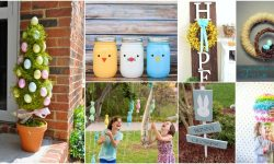 25 Creative DIY Outdoor Easter Decorations That Fill Your Yard With Joy