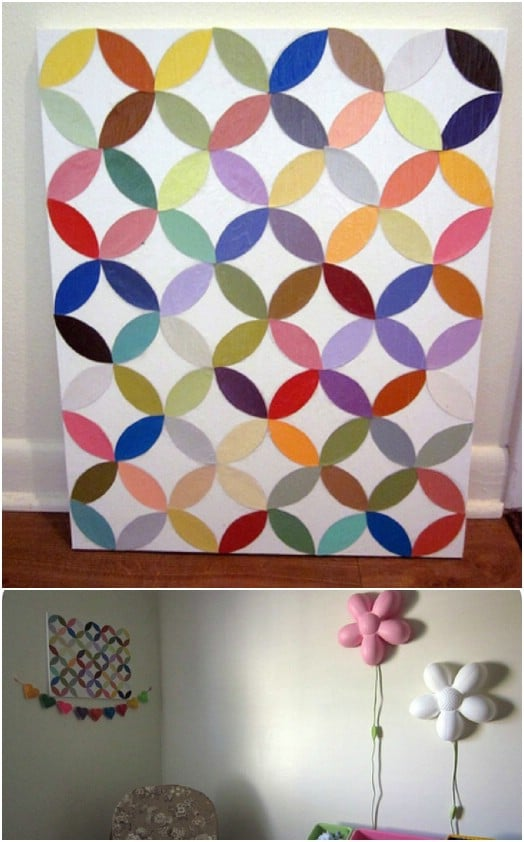 DIY Circle Wall Art