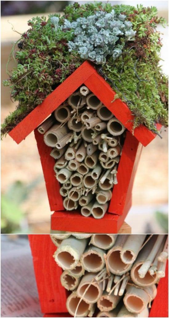 DIY Ladybug Hotel