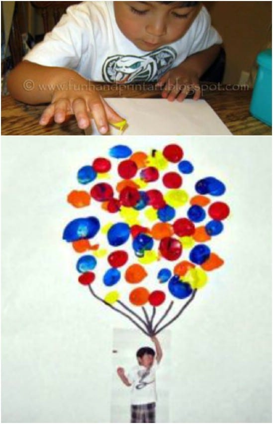Cute DIY Disney Up Picture Craft