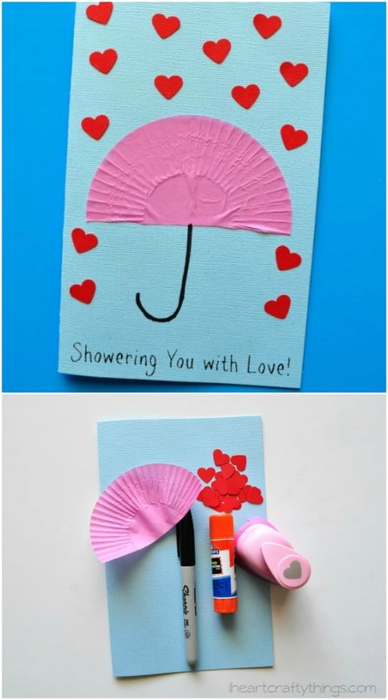 Showers Of Love DIY Mother's Day Card