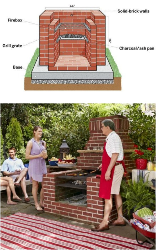 10 Awesome Diy Barbecue Grills To Fill Your Backyard With