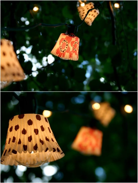 Adorable DIY Cupcake Lights