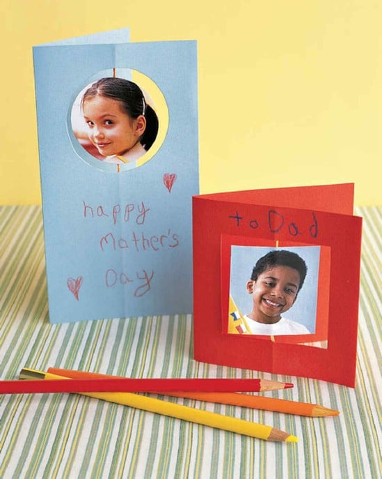 DIY Spinning Mother's Day Card