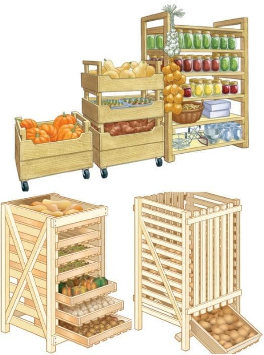 DIY Stackable Wood Crate Storage Bins