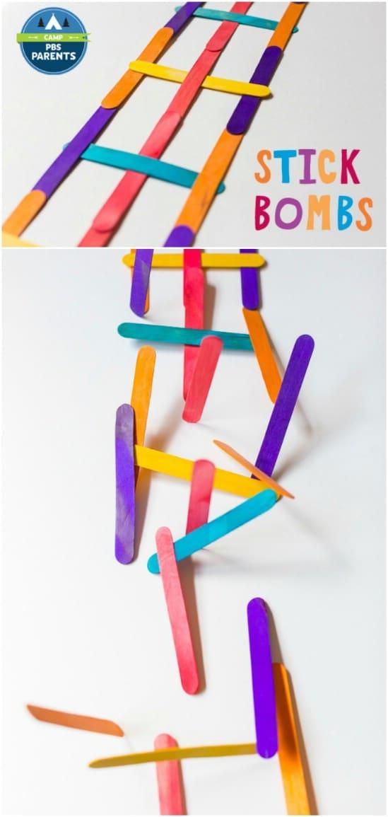 Fun DIY Popsicle Stick Bombs