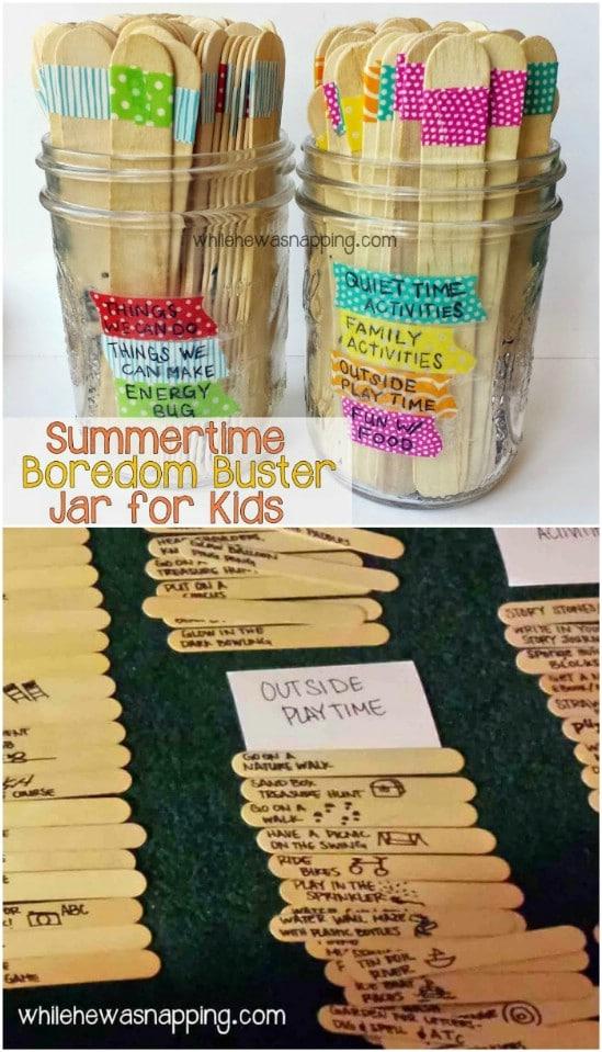Cute Idea – Summer Boredom Buster Popsicle Sticks