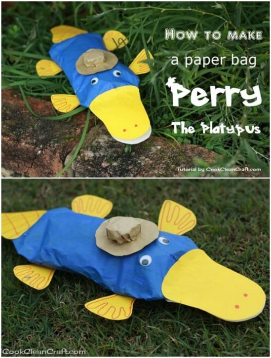 Paper Bag Perry The Platypus