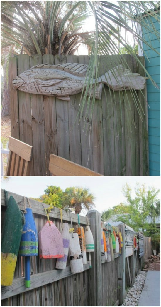 DIY Buoy Fence