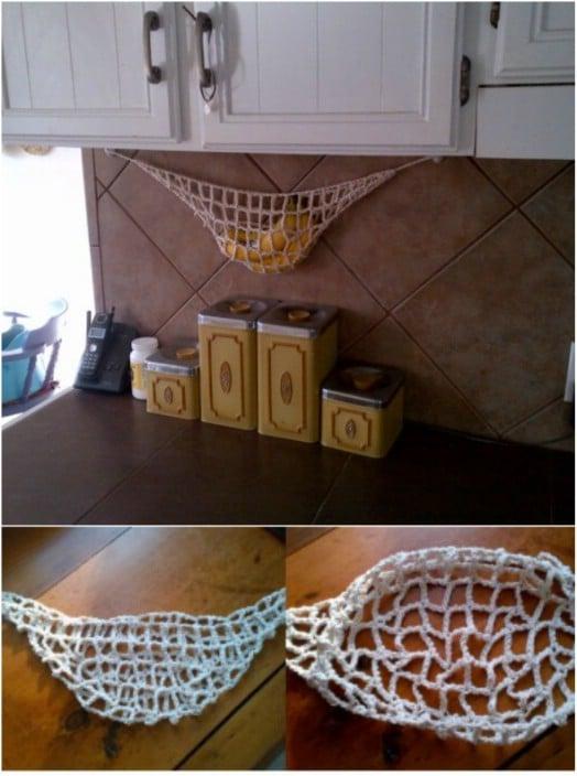 Easy DIY Crocheted Banana Hammock