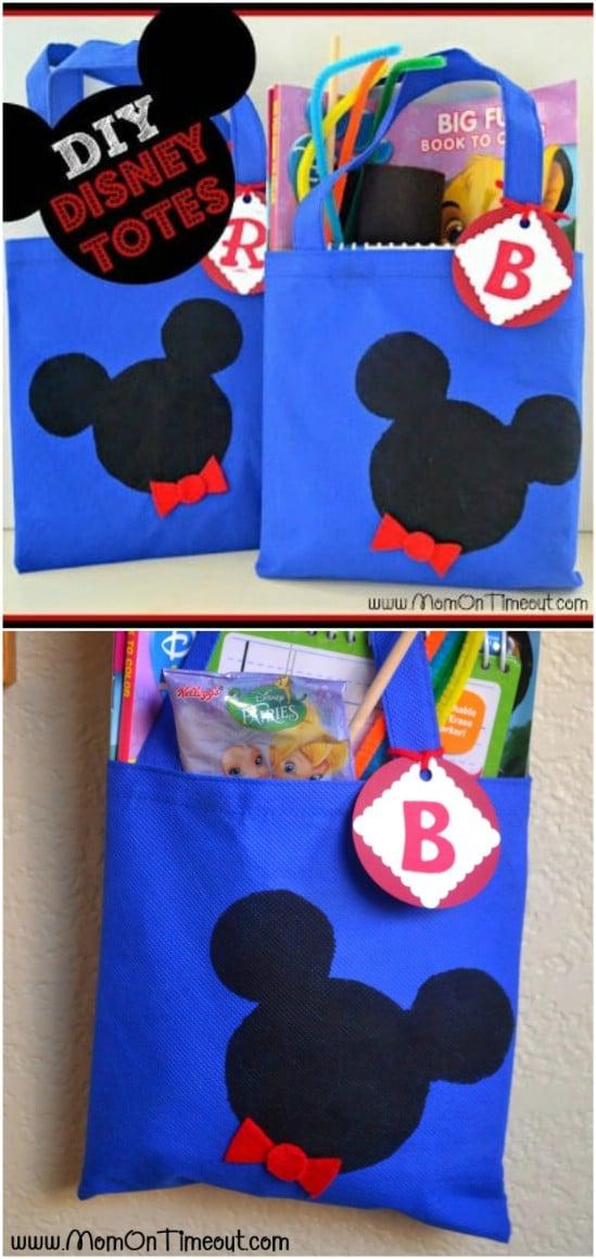 DIY Disney Tote Bags