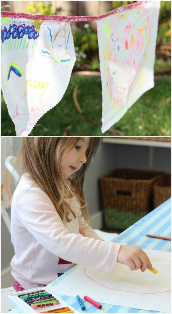 DIY Garden Wish Flags