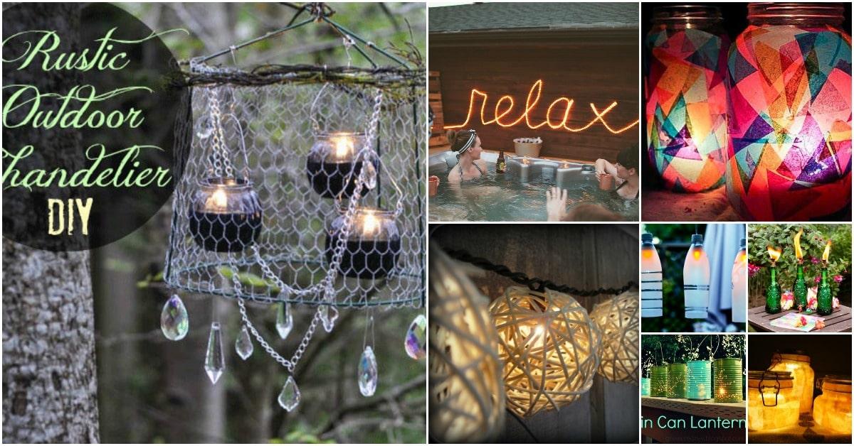 20 DIY Garden Lighting Projects To Beautifully Illuminate Your Outdoors    DIY U0026 Crafts