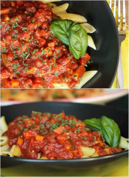 Chunky Garden Veggie Marinara Sauce
