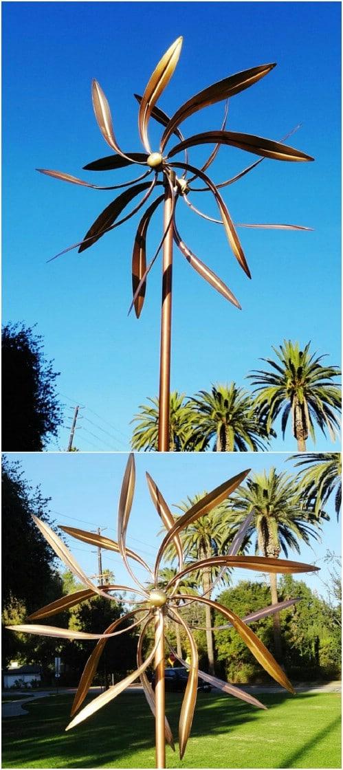 Artistic Garden Windmill