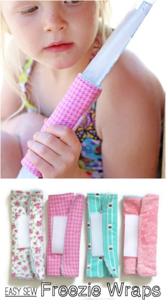 Easy To Sew Popsicle Koozie