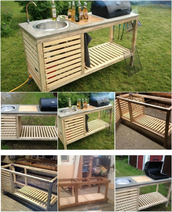 DIY Portable Outdoor Kitchen